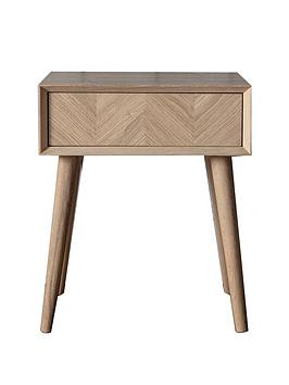 Hudson Living Hudson Living Milano Side Table With Drawer Picture