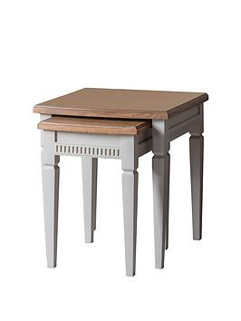 Hudson Living Hudson Living Bronte Nest Of Tables - Taupe Picture