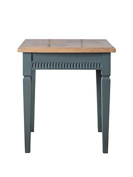 Hudson Living Hudson Living Bronte Lamp Table - Blue Picture
