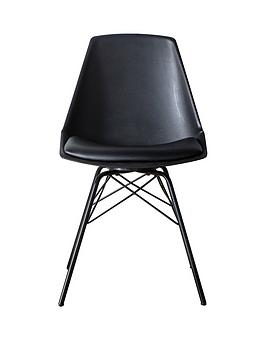 Hudson Living Hudson Living Finchley Set Of 4 Dining Chairs- Black Picture