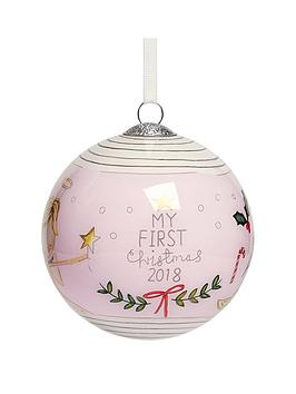 mamas-papas-christmas-bauble-pink