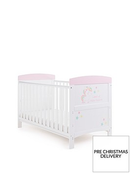 obaby-grace-inspire-cot-bed-unicorn