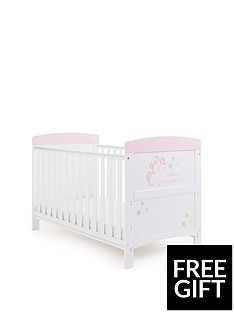 obaby-grace-unicorn-cot-bed