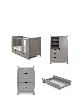 obaby-stamford-classic-4-piece-nursery-furniture-room-set