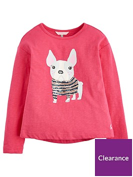 joules-raya-pug-sequin-long-sleeve-t-shirt-pink
