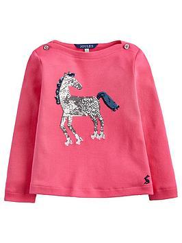 joules-esme-horse-sequin-t-shirt-pink
