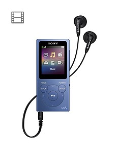 sony-walkmannbspnwe394nbsp8gbnbspmp3-player-blue