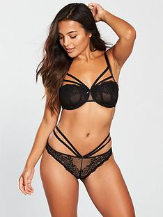 c8590aa8c8 Pour Moi Pour Moi Contradiction Strapped Underwired Bra