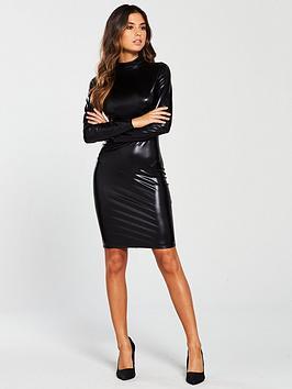 Ann Summers Ann Summers Dominatrix Long Sleeve Dress - Black Picture