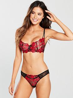 ann-summers-cecile-none-pad-bra-blackred