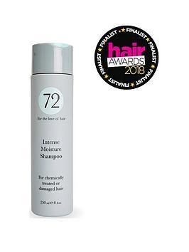 72 HAIR  72 Hair Intense Moisture Shampoo 250Ml