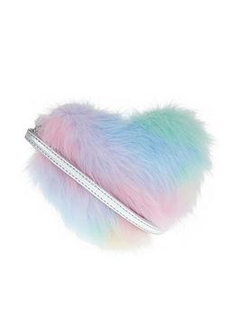 accessorize-girls-fluffy-ombre-heart-crossbody-bag-multi
