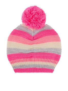 accessorize-girls-stripe-pomnbsppom-beanie-hat-multi