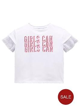 v-by-very-girls-039girls-can039-slogan-mesh-sleeve-t-shirt