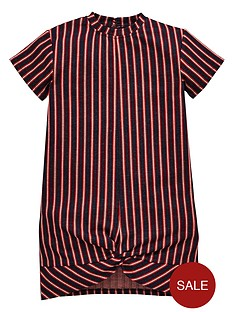 v-by-very-girls-stripe-twist-front-dress