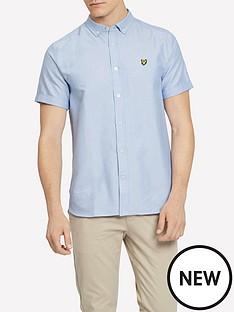 lyle-scott-big-tall-ss-oxford-shirt