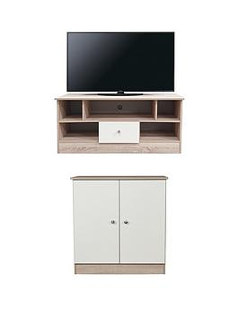 swift-torino-2-piece-ready-assembled-package-tv-unit-and-2-door-sideboard