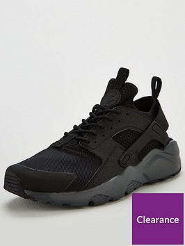 nike-air-huarache-run-ultra-gel-trainers-black