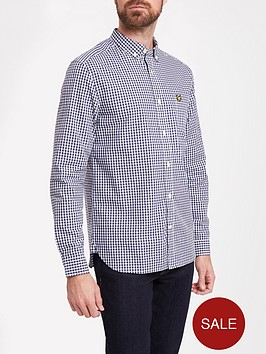 lyle-scott-lyle-amp-scott-big-amp-tall-ls-gingham-shirt