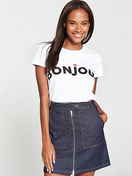 v-by-very-bonjour-slogan-t-shirt-white