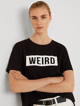 mango-weird-t-shirt-black