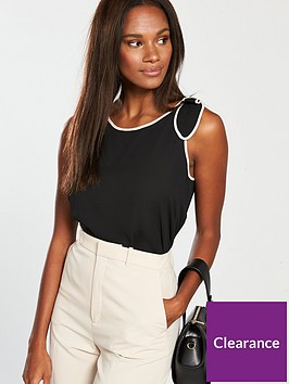 mango-bow-shoulder-sleeveless-top