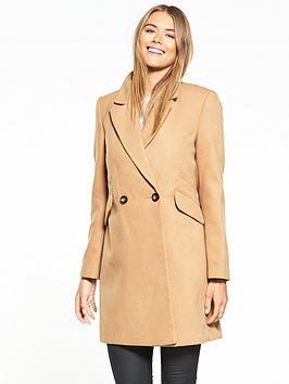 miss-selfridge-smart-wool-coat-camelnbsp