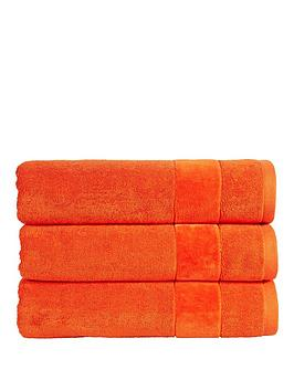 Christy Prism Vibrant Turkish Cotton Towel Range - Orangeade - Bath Sheet