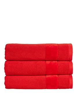 Christy Christy Prism Turkish Cotton Towel Collection &Ndash; Fire Engine  ... Picture