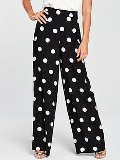 v-by-very-spot-wide-leg-trousers-monochrome