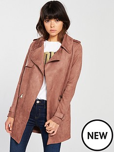 river-island-river-island-trench-coat-pink