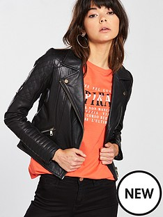 river-island-river-island-quilted-shoulder-leather-jacket-black