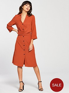 river-island-shirt-dress-orange