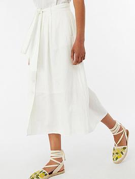 monsoon-iris-linen-skirt-white