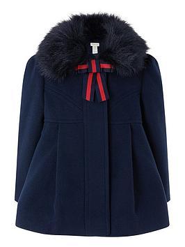 monsoon-baby-nella-navy-coat