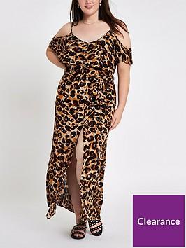 ri-plus-maxi-dress-leopard-print