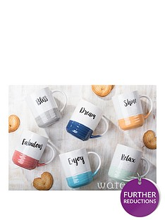 waterside-dipped-glaze-slogan-mugs-ndash-set-of-6