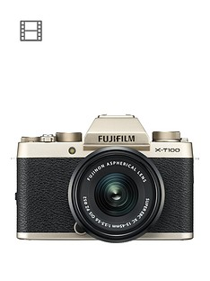 fujifilm-fujifilm-x-t100-champagne-gold-with-black-xc15-45mm-lens