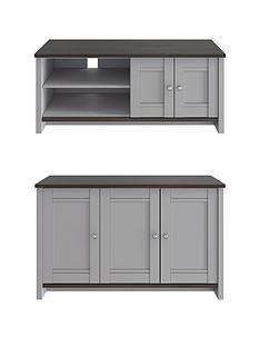 consort-tivoli-new-2-piece-package-ready-assembled-3-door-sideboard-and-wide-tv-unit-greywalnut-effect