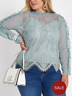 ri-plus-lace-top-blue