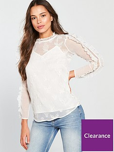 river-island-river-island-long-sleeve-embroidered-top-cream