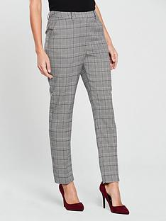 warehouse-check-slim-trouser