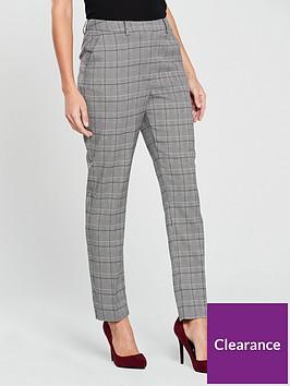 warehouse-check-slim-trouser