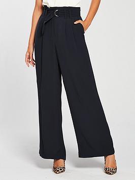 oasis-d-ring-wide-leg-trouser-navy