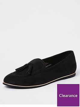 river-island-river-island-black-tassel-loafers-black