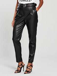 v-by-very-faux-leather-high-waisted-belted-trousers-black