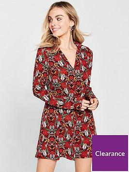 ax-paris-petite-floral-printed-shirt-dress