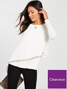 wallis-asymmetric-stud-overlayer-top-ivory