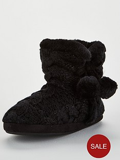 v-by-very-winter-cable-knit-slipper-boots-black