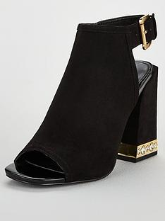 v-by-very-figaro-pearl-trim-heel-shoe-boots-black
